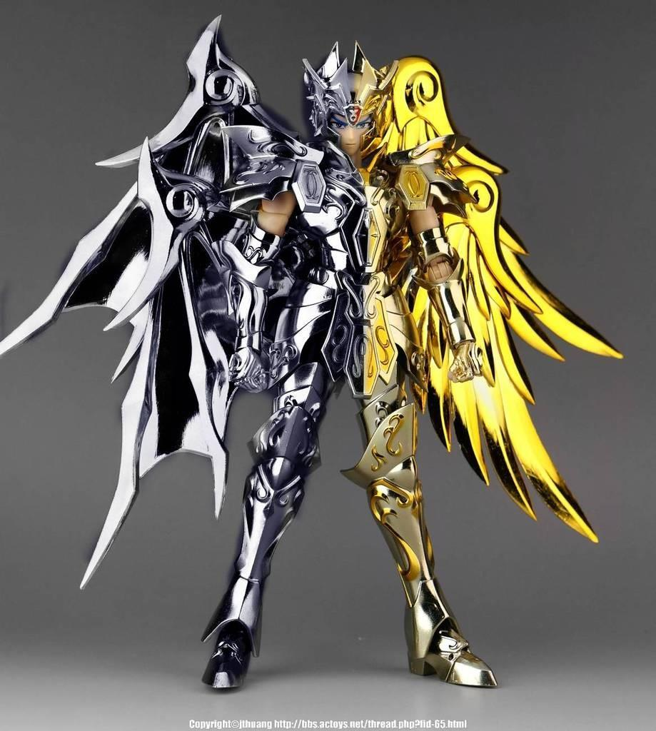 Great toys saint seiya myth cloth sog ex bicolor gemini saga figure ebay - Decor saint seiya myth cloth ...