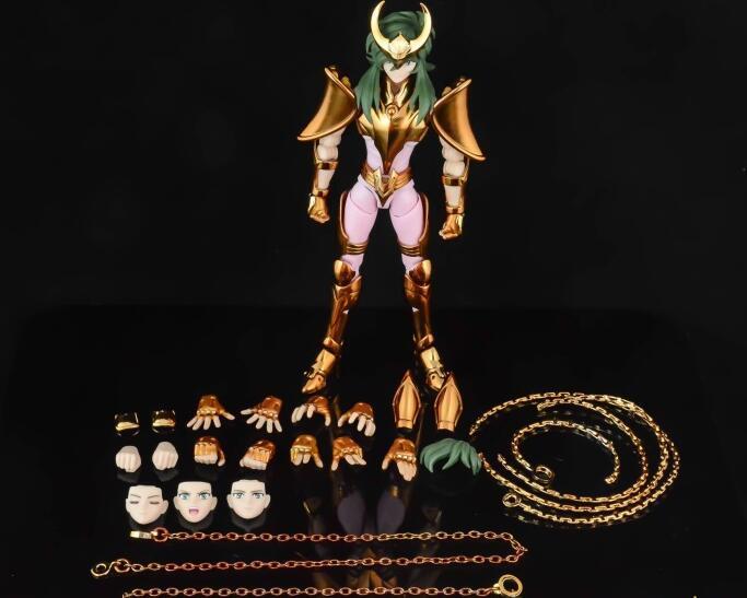 Saint Seiya Myth Cloth EX shun de Andrómeda V3 OCE Andromeda Great Toys Metal