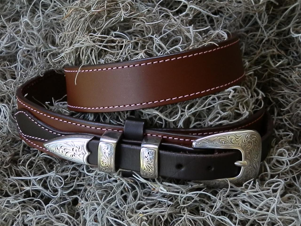 ranger belts handmade chocolate brown custom ranger belt ebay 2142