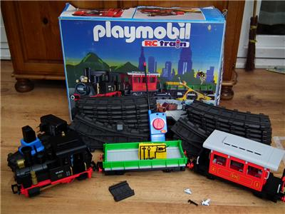 Playmobil train diorama 2014 - YouTube |Playmobil Train Layouts