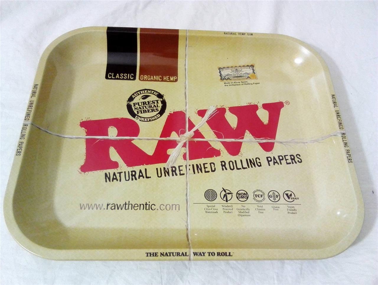 Classic 1970 S Raw Rizla Rolling Metal Tidy Prep Tobacco