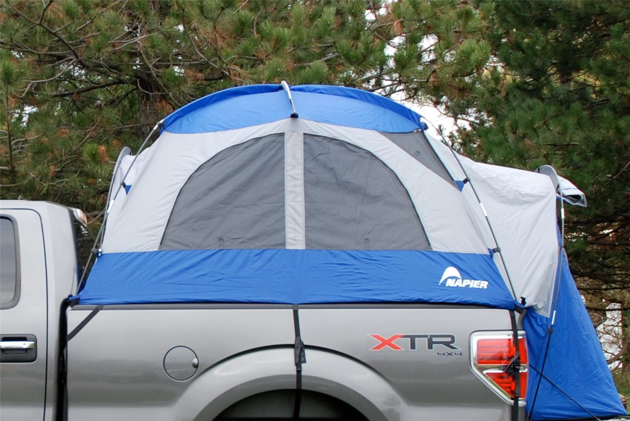 napier sportz truck tent mid size crew cab pickup 65 bed size 2 person 57099. Black Bedroom Furniture Sets. Home Design Ideas
