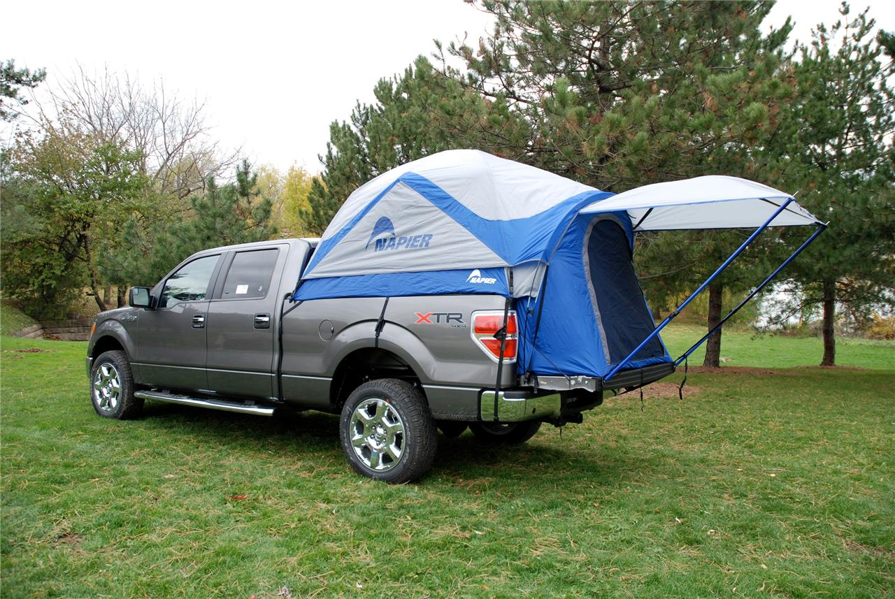 napier sportz truck tent full size long bed pickup 7 9 39 8. Black Bedroom Furniture Sets. Home Design Ideas