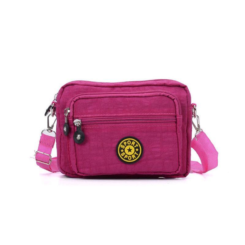 Ladies-Waterproof-Hobo-Purse-Nylon-Handbag-Crossbody-Tote-Messenger-Bags-Travel