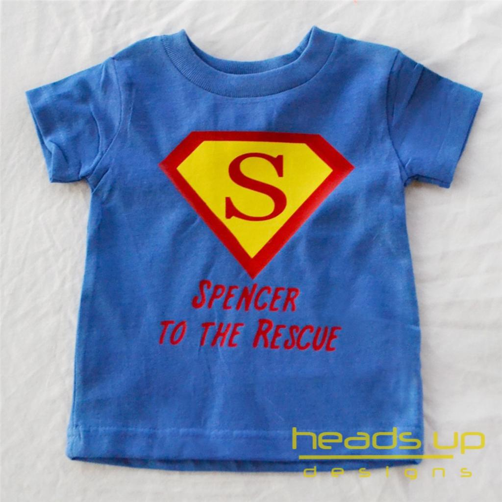 Superman Personalized Shirt Boy Girl Baby Onesie Superhero ...