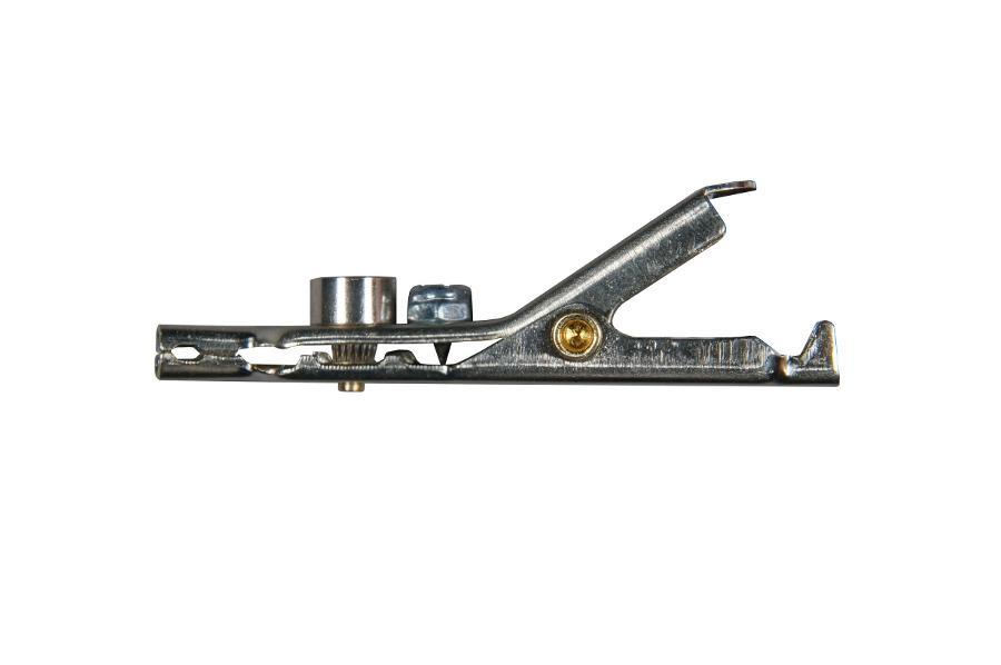alligator clip bed of nails angled  u0026 single black spike