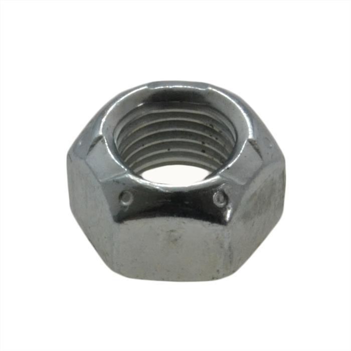 Qty 2 Hex Standard Nut 3//8 UNC Imperial Black Steel Grade 8 BSW