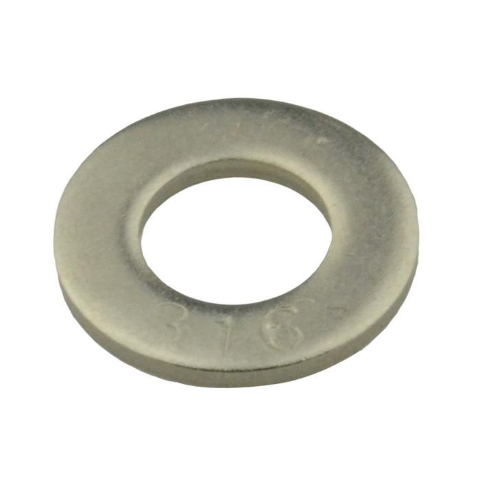 Qty 100 Flat Washer M8 8mm X 16mm X 1 6mm Metric Din125