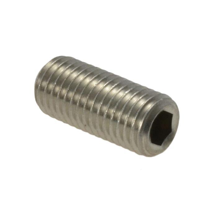 Hex Socket Set Screws 5//16-24 X 3//8 Cup Point Made in U.S.A. 100 pcs Alloy Steel UNF Fine Thread