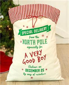 a very good boy burlap extra large christmas gift bag santas bag oversized