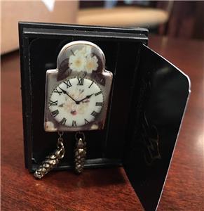 1.405//5 MINIATURE DOLLHOUSE 1:12 SCALE REUTTER NOSTALGIA CLOCK