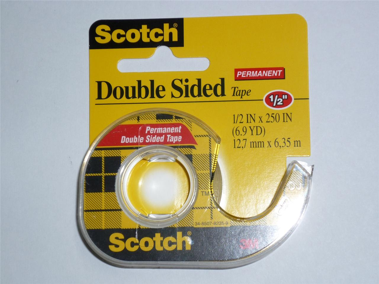 3m scotch double sided tape 136 office tape sticky tape 12. Black Bedroom Furniture Sets. Home Design Ideas