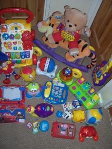 Huge Bundle Baby Toddler Toys Fisher Price Vtech Elc Ebay