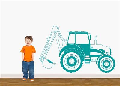 Farm Animals Tractor Wall Sticker Decal Decor Art Mural Nursery Kids Room WC113