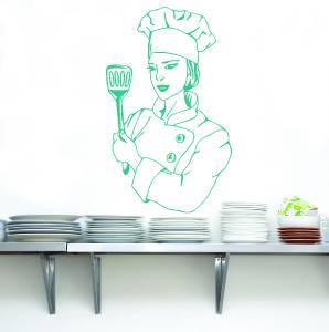 Wall Tattoo Restaurant request text Kitchen Cook Cooking Dinner Pub Bar uss470