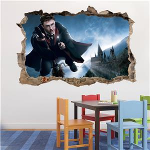 Harry Potter Smashed Wall Decal Removable Wall Sticker Art Mural