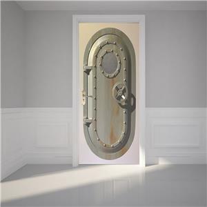 Submarine Entrance 3D DOOR WRAP Decal Wall Sticker Home Decor Mural Art 227