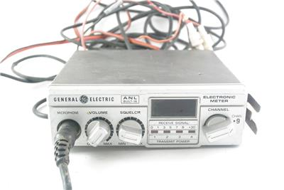 Ge General Electric 40 Channel Cb Transceiver Model No 3