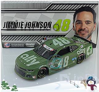 JIMMIE JOHNSON 2020 #48 ALLY FINANCIAL CAMARO ZL1 COLOR CHROME 1:24 NEW in BOX