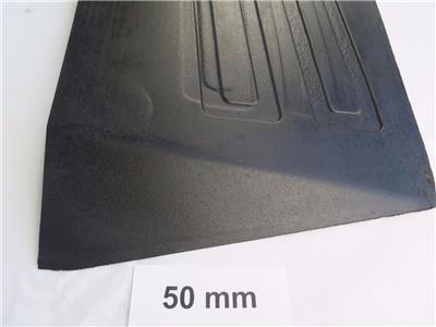 Rubber Threshold Ramp 50mm High Door Wedge Wheelchair