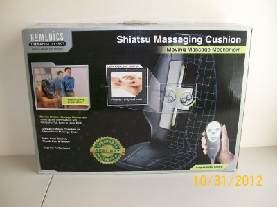 Homedics SBM 200 Shiatsu Massaging Cushion Back Massager