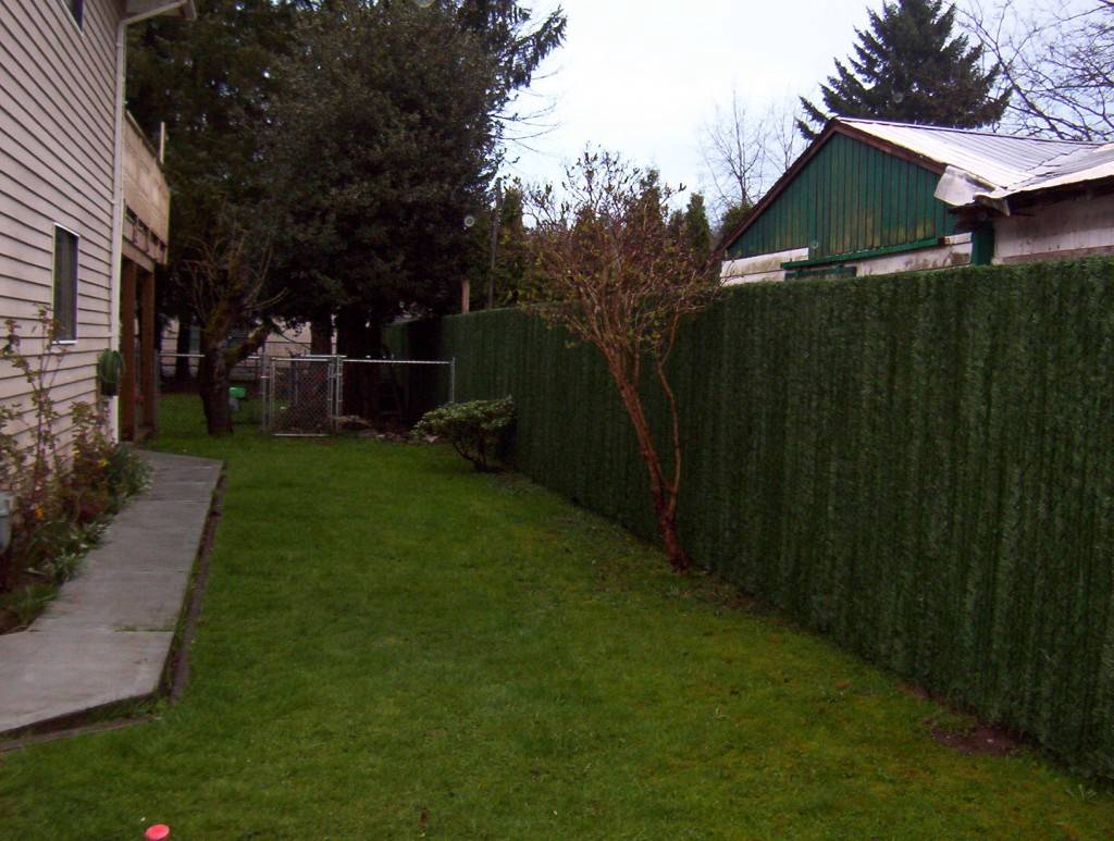 Green Hedge Link Privacy Fence Slats For 5 Foot Ft Chain