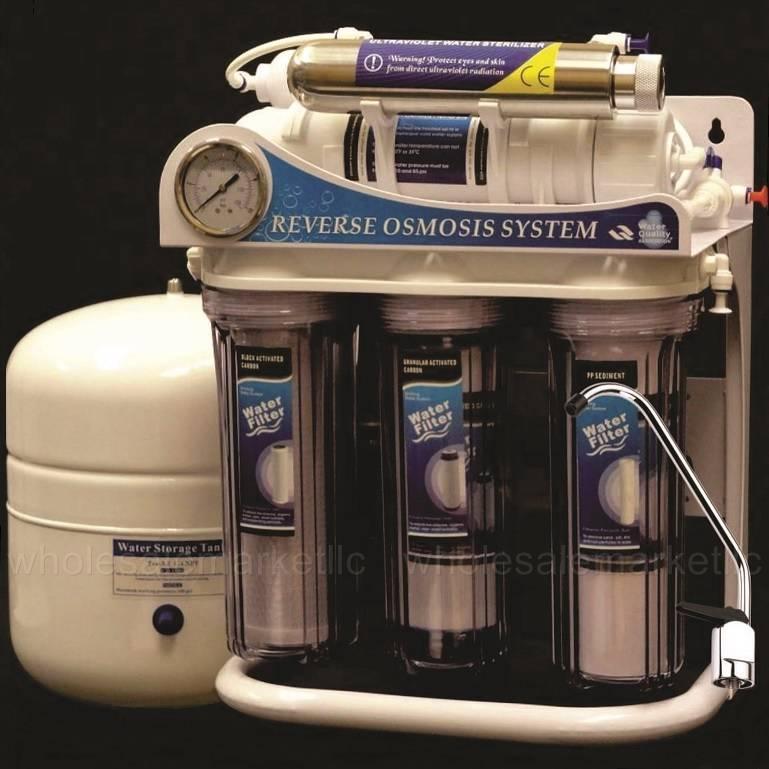 Reverse Osmosis Uv Light Water Filter System Ultraviolet