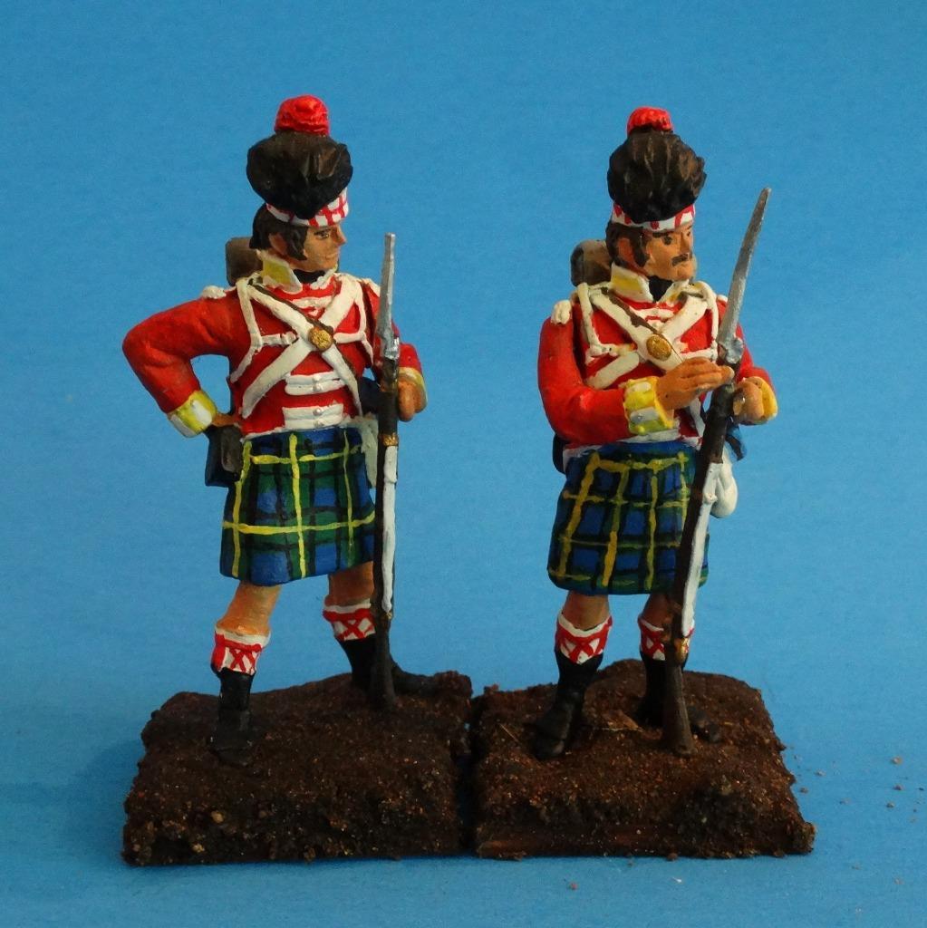 MI-534 - British Gordon Highlanders Loading - Napoleonics (2 figs) - Li'l Army