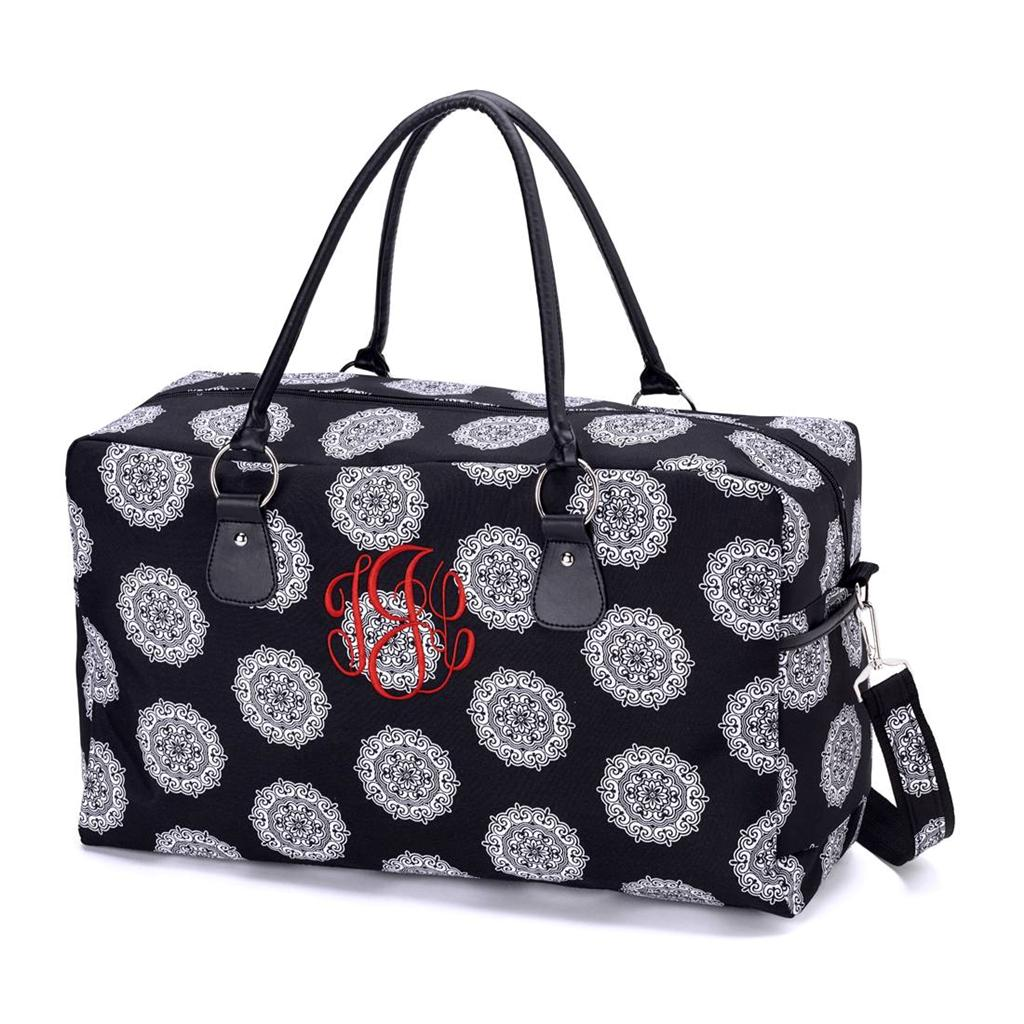 Monogrammed Travel Jewelry Bags
