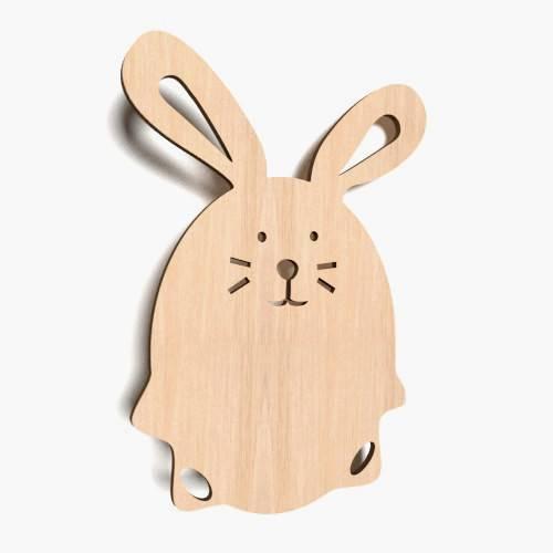 10x Wooden EASTER EGG Shapes MDF Craft 100mm //10cm laser embellishment tags 0004