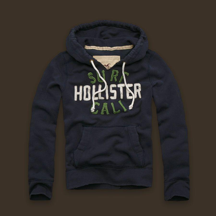 NWT Hollister By Abercrombie Mens Sweater Hoodies