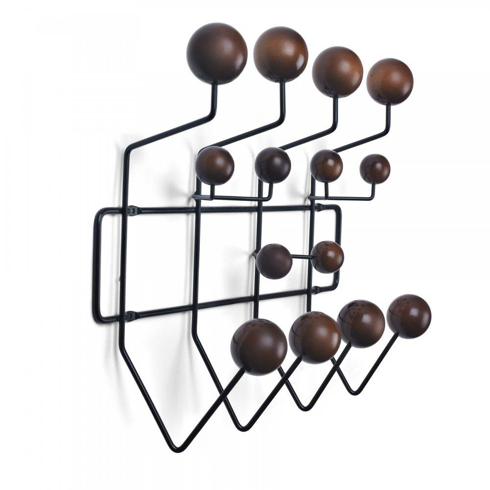 eames style hang it all wall hanger multicolor or walnut. Black Bedroom Furniture Sets. Home Design Ideas