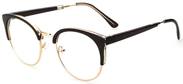 Semi Rimless Eyeglass Frames For Men David Simchi Levi