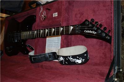 celebrity gc 3 5 solid body 6 strings electric guitar made by ovation hard case ebay. Black Bedroom Furniture Sets. Home Design Ideas