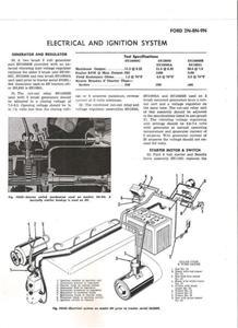 ford 8n, 9n, 2n electrical-ignition schematic distrib. ford 9n distributor diagram 1939 ford 9n wiring diagram