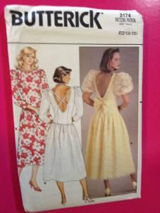 Butterick Sewing Pattern 6630 Ladies Misses Coat /& Dress Size 12-16 Uncut