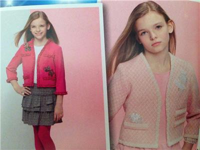 Simplicity Sewing Pattern 1548 Girls Childs Jacket Top Skirt Size 8-16 UC