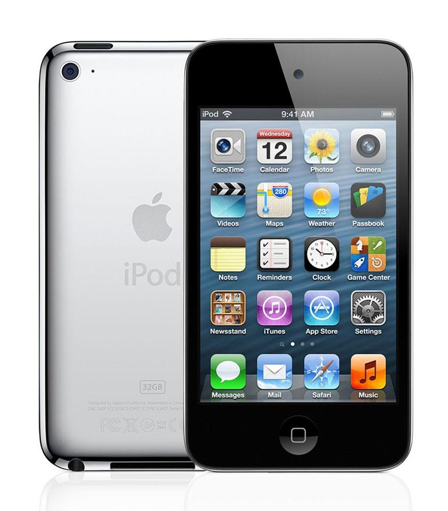 ipod touch 4th gen 8gb black white a1367 1 year warranty. Black Bedroom Furniture Sets. Home Design Ideas