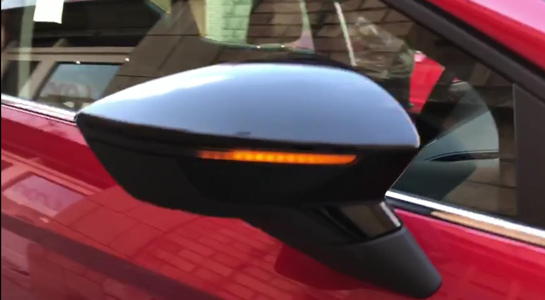 2x led dynamic mirror indicators repeaters pair seat ibiza. Black Bedroom Furniture Sets. Home Design Ideas