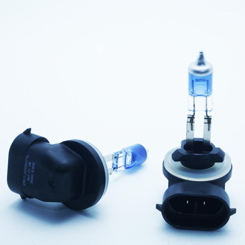 2x H27W2 881 27w Super White Xenon HID Upgrade Headlight Headlamp Bulbs Pair 12v