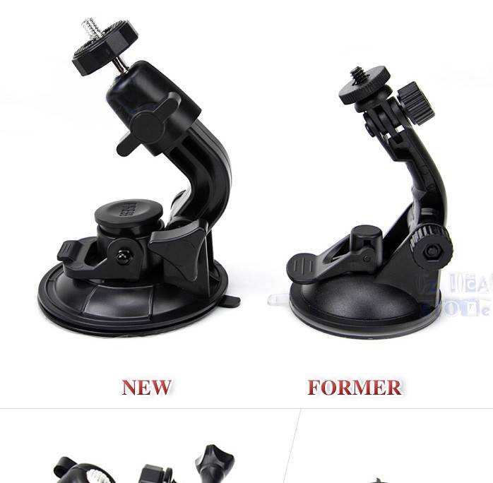 Gopro Cam Accessories Car Holder Cup Suction Heavy Duty