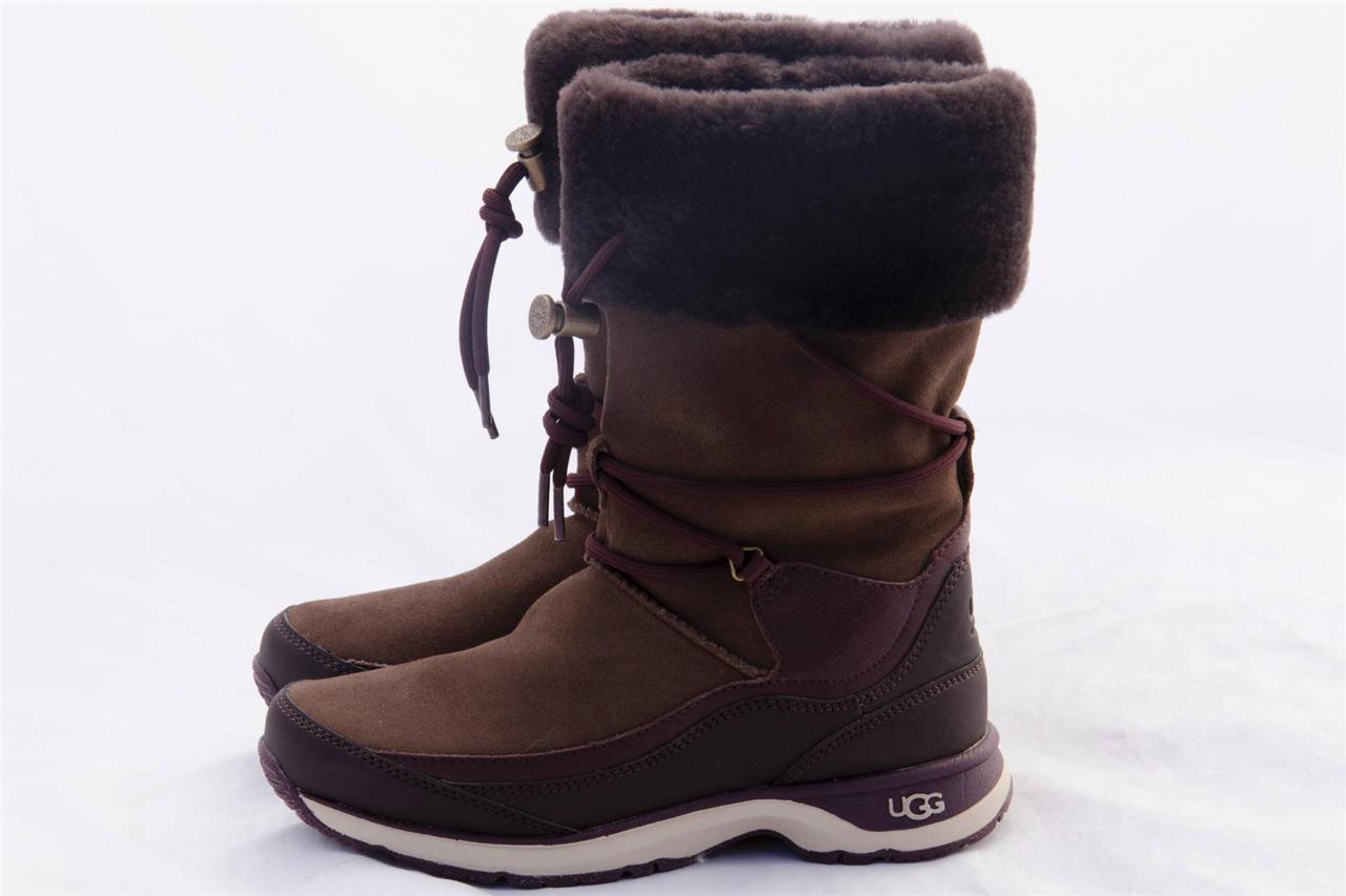 ugg orellen women s waterproof thinsulate boots chocolate us 7 eur 38 uk 5 5 ebay. Black Bedroom Furniture Sets. Home Design Ideas