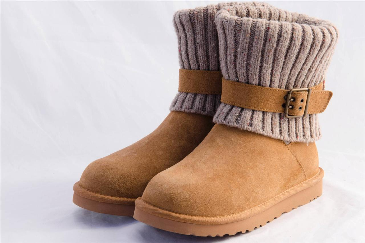 4ca85424f4c Port Color Cambridge Knit Ugg Lined Boot | MIT Hillel