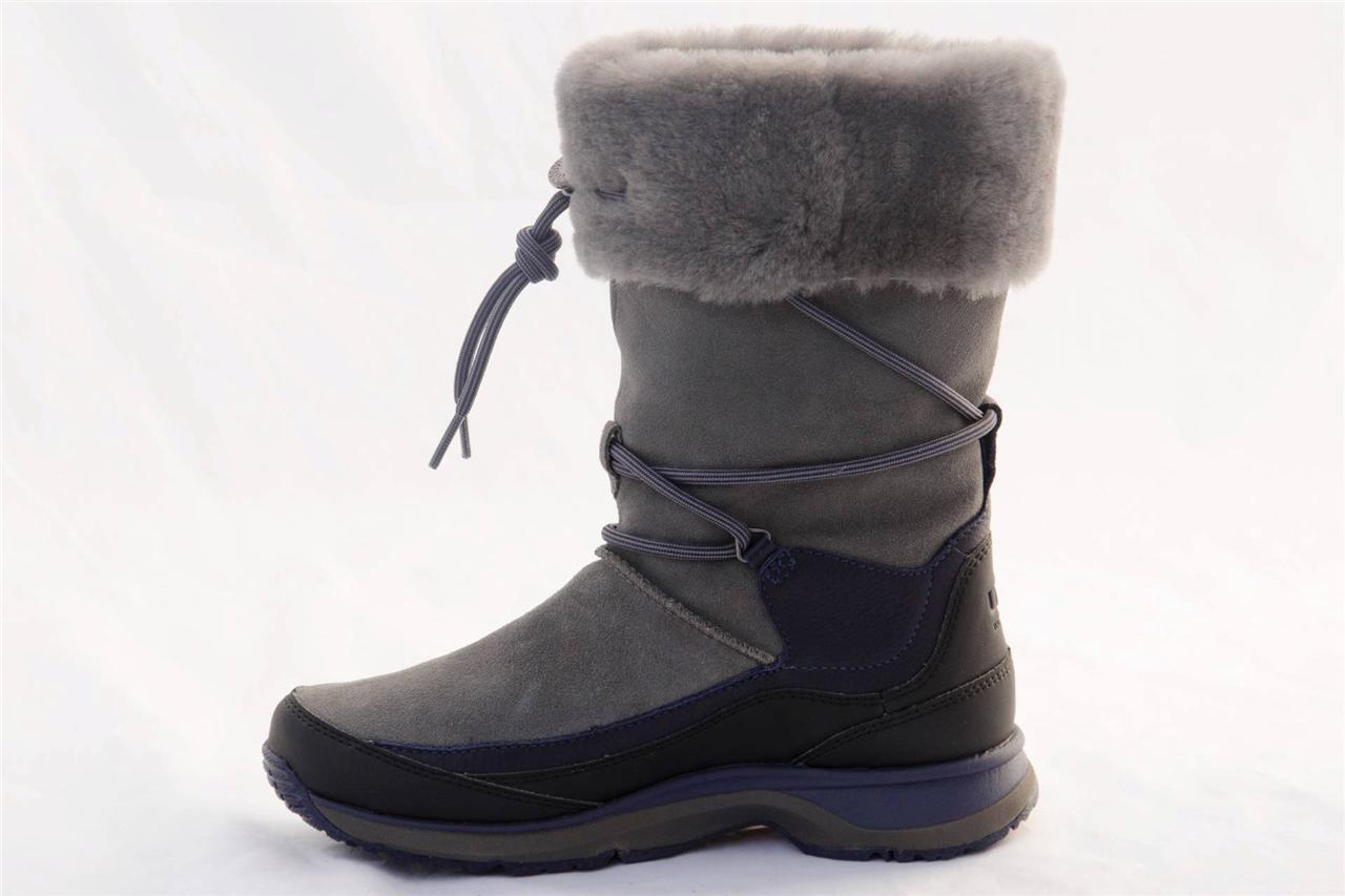 ugg orellen women 39 s waterproof thinsulate gray boots us 7 eur 38 uk 5 5. Black Bedroom Furniture Sets. Home Design Ideas