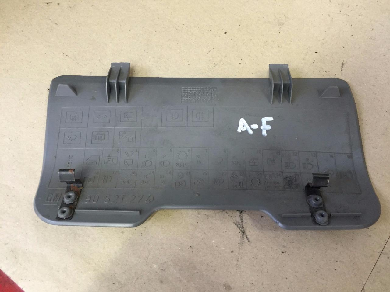 Vx Astra F Mk3 1991 1996 Dashboard Fuse Box Cover In Grey 90521274 1 8