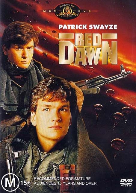 RED DAWN : NEW DVD : Patrick Swayze 9321337072890 | eBay