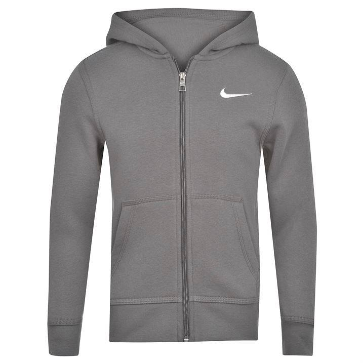 Nike Fundamentals Full Zip Hoody Juniors Kids Hoodie Nike ...