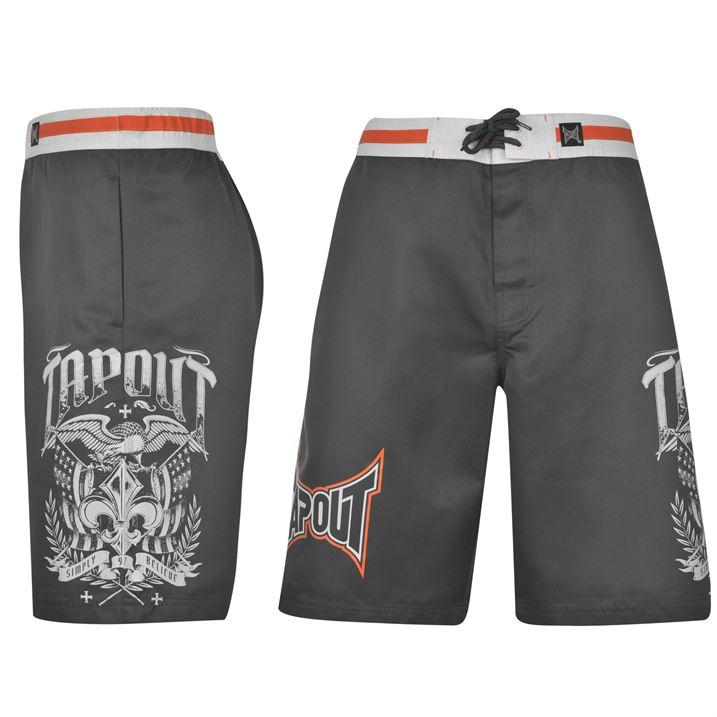 Ufc Tapout 2: Tapout Board Shorts Mens MMA UFC Fighting Training Gym