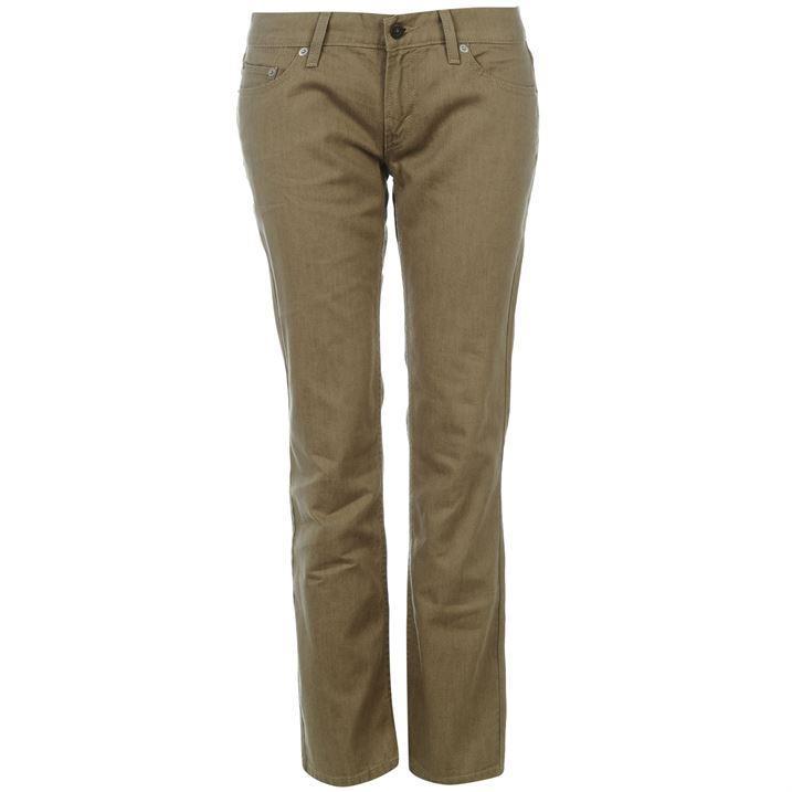 levis 524 femme bootcut jeans pantalon coupe droite levis. Black Bedroom Furniture Sets. Home Design Ideas