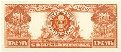 Note BEP 1986 FUN Expo VCC B87 Souvenir Intaglio Card 1890 Farragut $100 Treas